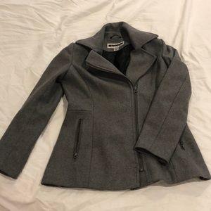Gray Kristen Blake Wool Coat